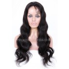 Brazilian Virgin Hair Full Lace Wigs Body Wave