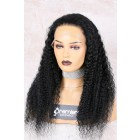 Full Lace Wig Brazilian Virgin Hair Deep Wave