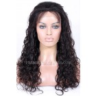 Brazilian Virgin Hair Full Lace Wigs Loose Curl