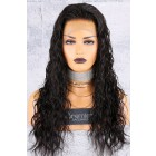 Loose Curly 360 Lace Wig,Indian Remy Hair,Pre-Plucked Hairline