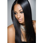 Relaxed Hair Yaki Texture Real Scalp Silk Top Lace Front Wig Indian Remy Hair