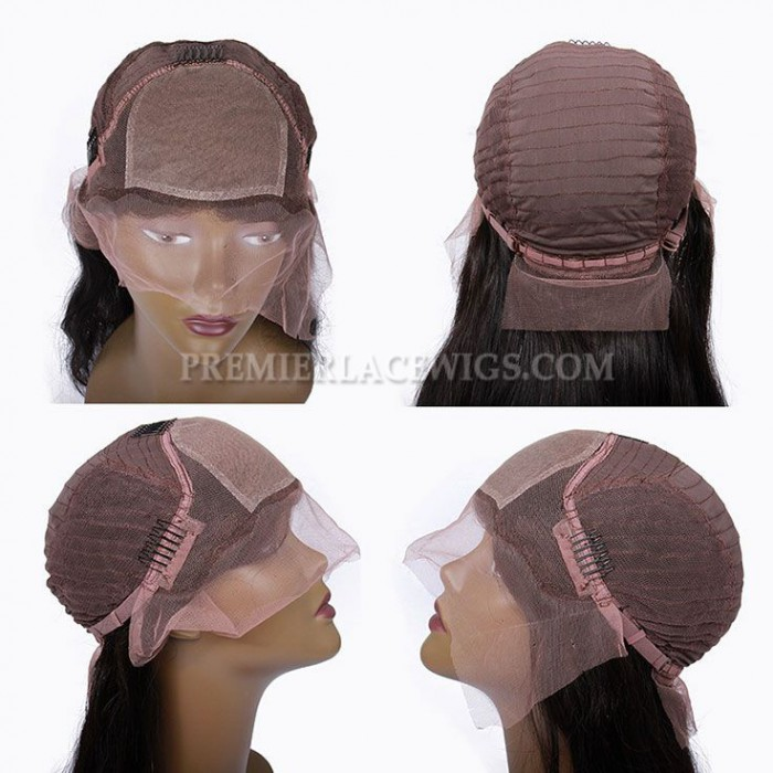 silk top silk base lace front wig Cap construction
