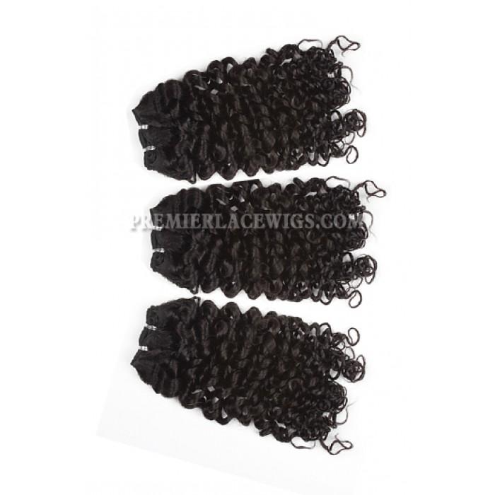 Brazilian Virgin Hair Weave Candy Curl 4ozs thick Hair 3 Bundles Deal