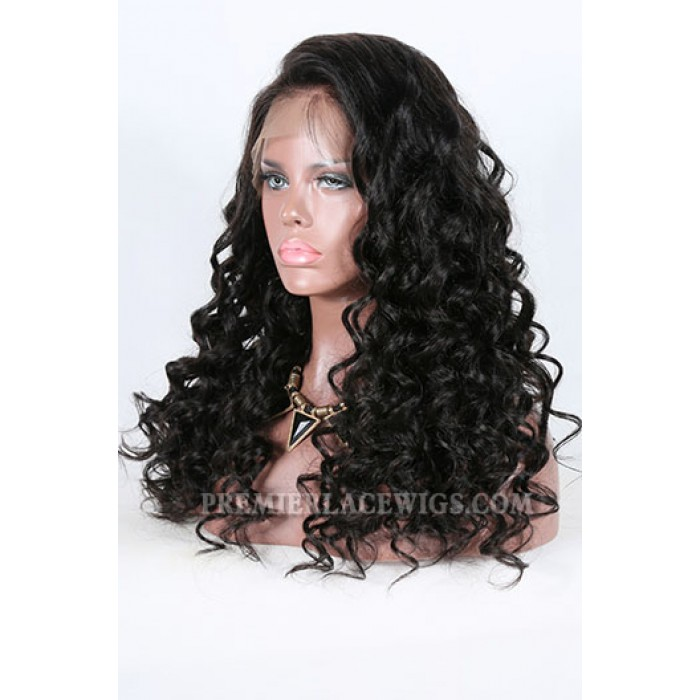 Deep Body Wave Indian Remy Hair Improved 360°Anatomic Lace Wigs,150% Thick Density ,Pre-Plucked Hairline