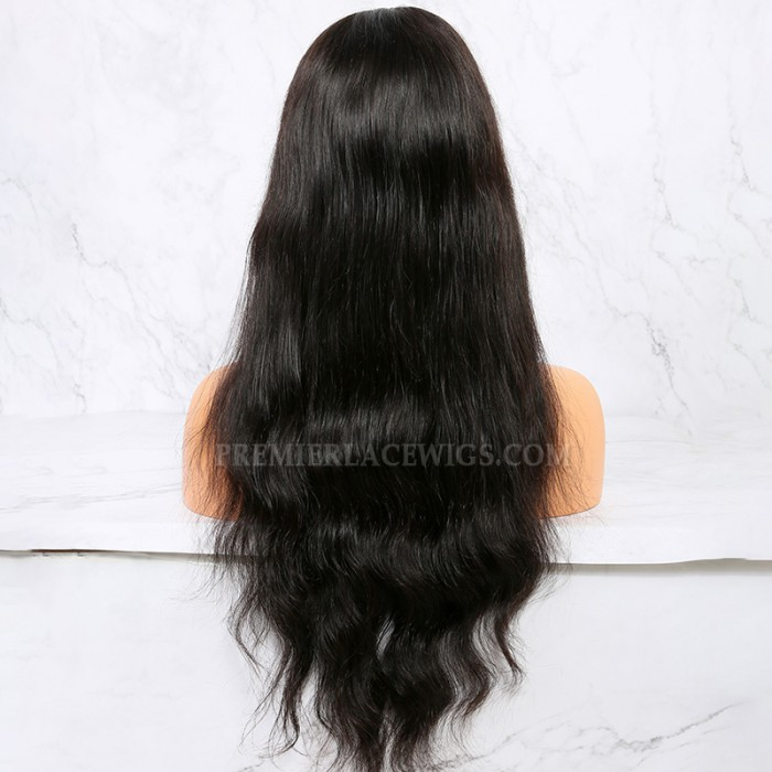 20 inches, natural color,150% density