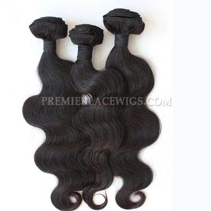 3 Bundles Deal Peruvain Virgin Hair Natural Color Body Wave Hair Extension