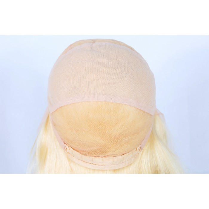 Blonde hair full lace wig