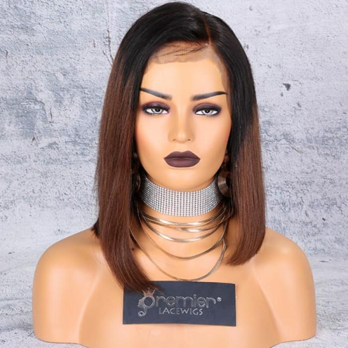 Kim K Ombre Asymmetrical Bob 360 Lace Wig