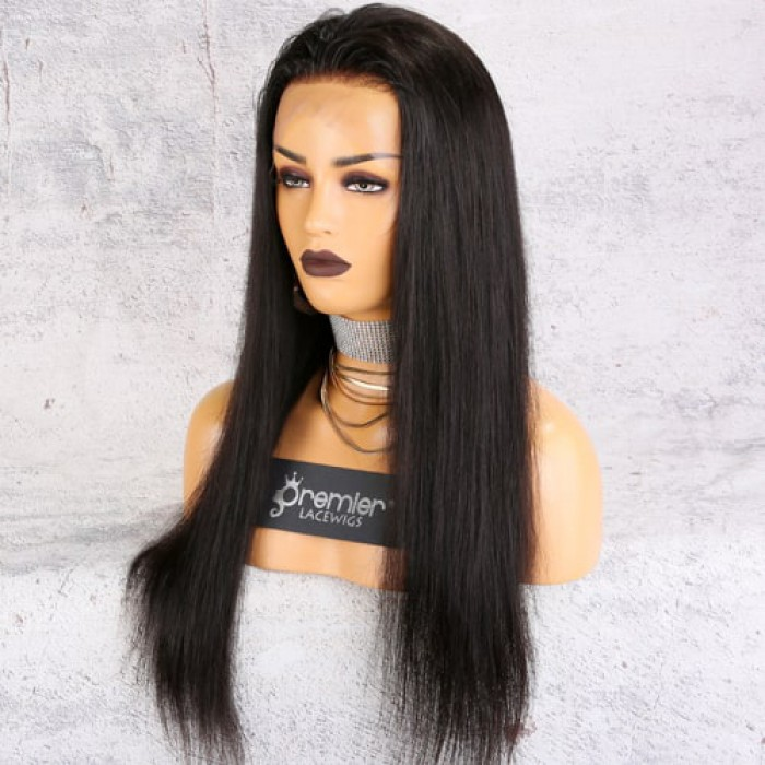 Affordable 13x4.5 Lace Frontal Wig,Silky Straight