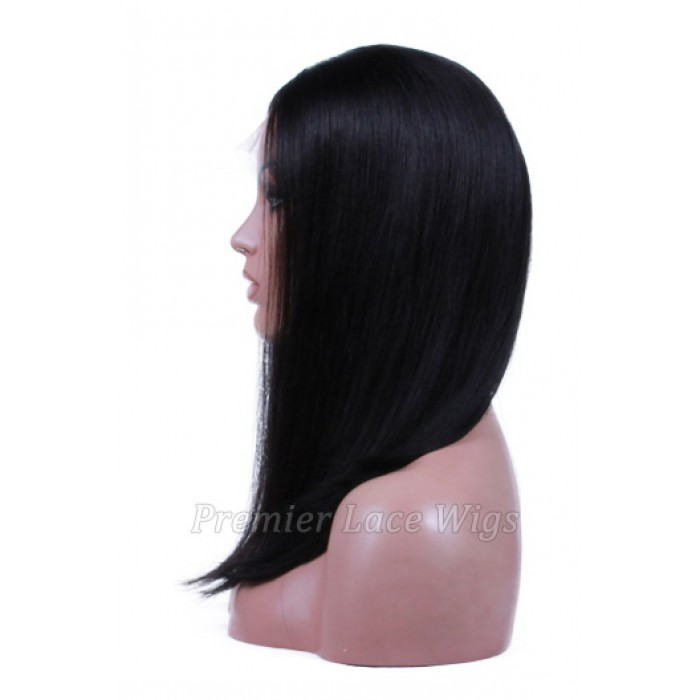 Affordable Lace Parting Wig Blunt Cut Bob