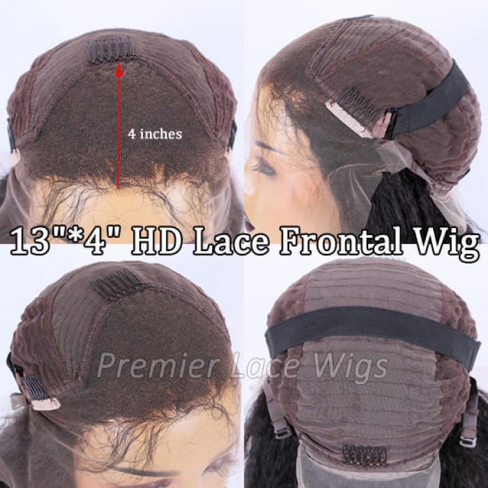 """13""""*4"""" HD lace frontal wig"""