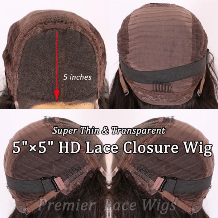 "5""*5"" HD Lace Closure Wig"