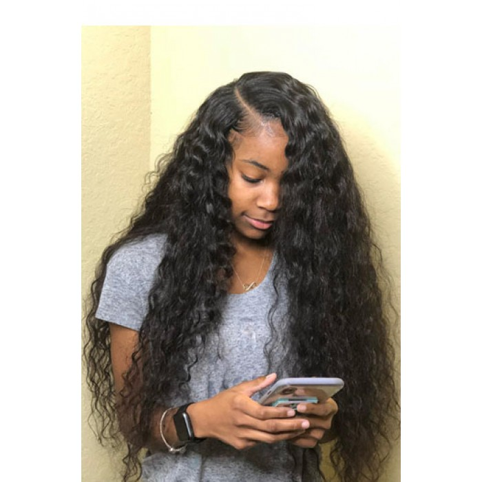 22 inches,natural color,150% density