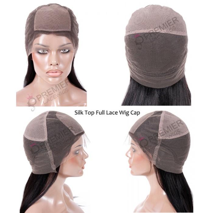 silk top full lace wig cap inside