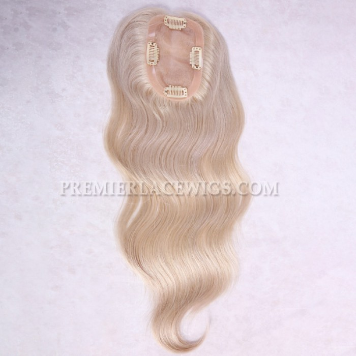 """HairPieces Toppers Mono Base 3""""x5"""" Size"""