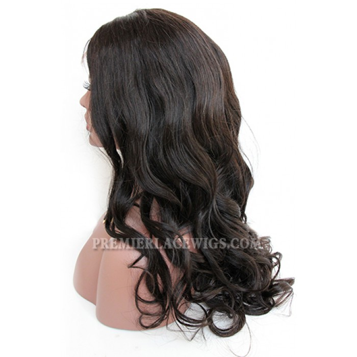 Luxury Big Bouncy Curls Indian Remy Hair 360° Lace Wigs,150% Thick Density ,Pre-Plucked Hairline