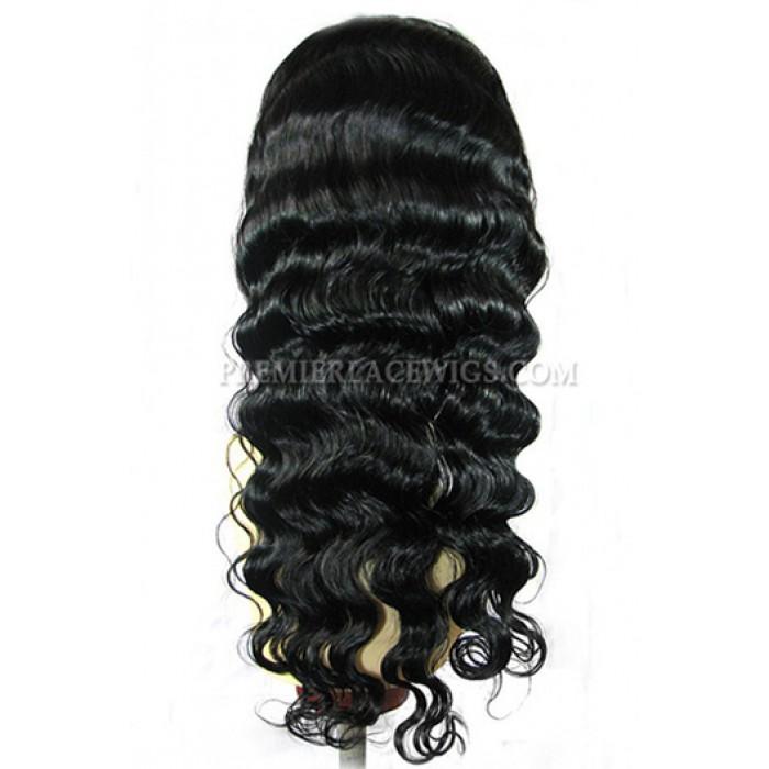 sexy deep body wave brazilian virgin hair full lace wigs