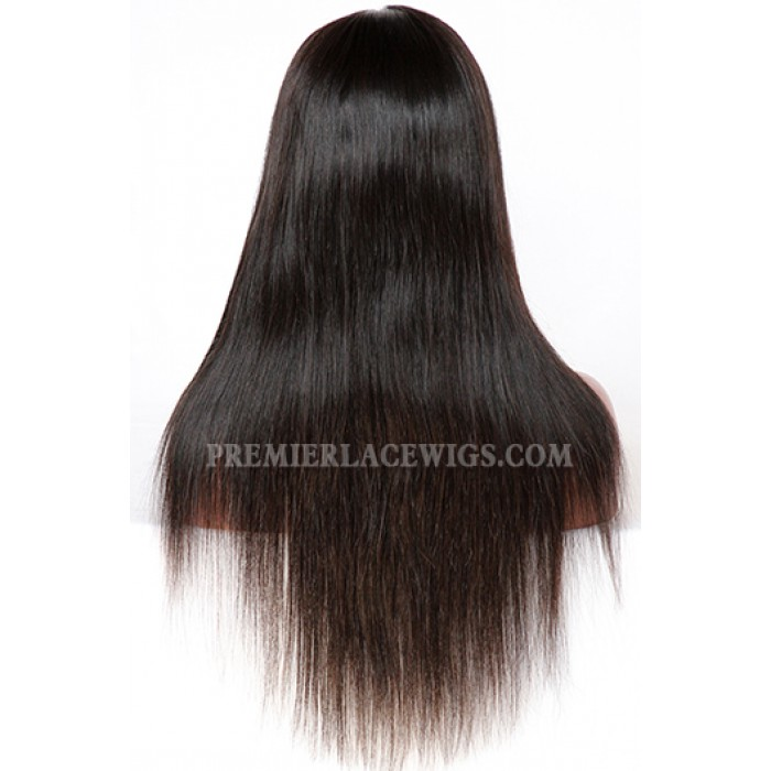 18 inches ,natural color ,120% normal density