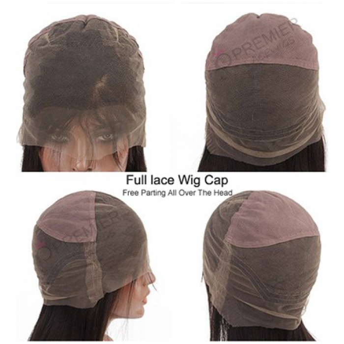 Full lace wig cap construction