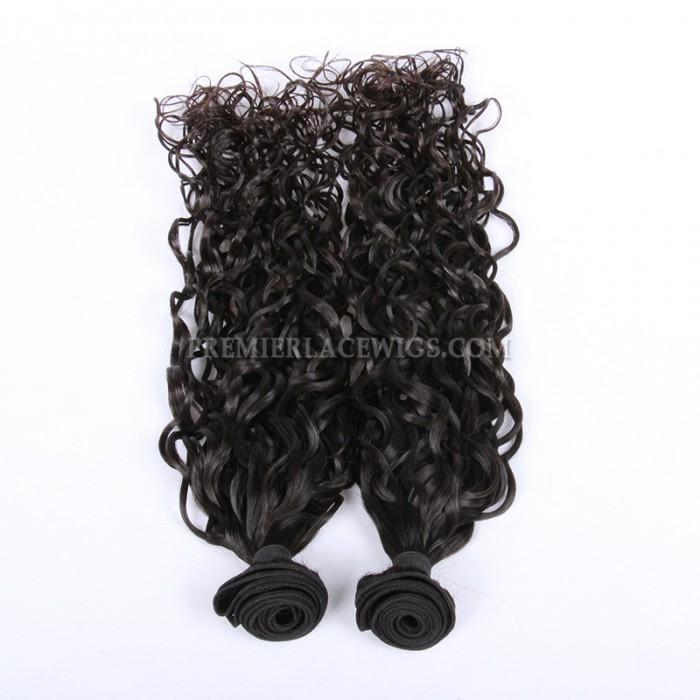 Loose Curl Peruvian Virgin Hair Weave 2 Bundles Hair Deal