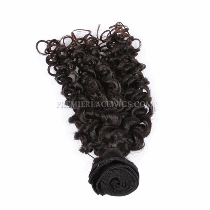 Peruvian Virgin Hair Candy Curl Hair Weaves 4 Bundles Deal