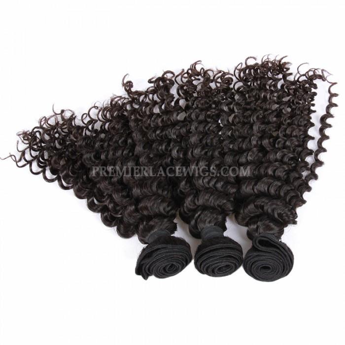 Peruvian Virgin Hair Deep Wave 3 bundles deal
