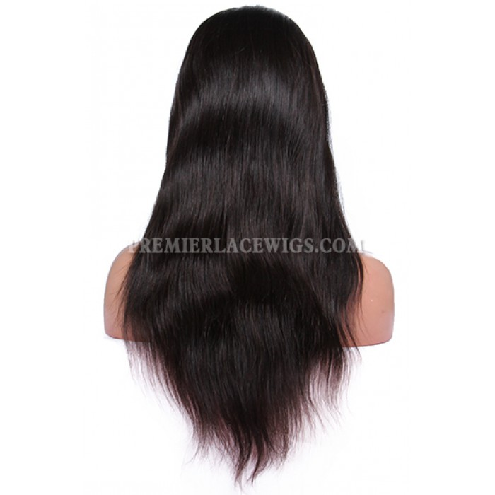 Brazilian Virgin Hair Silky Straight Glueless Full Lace Wigs