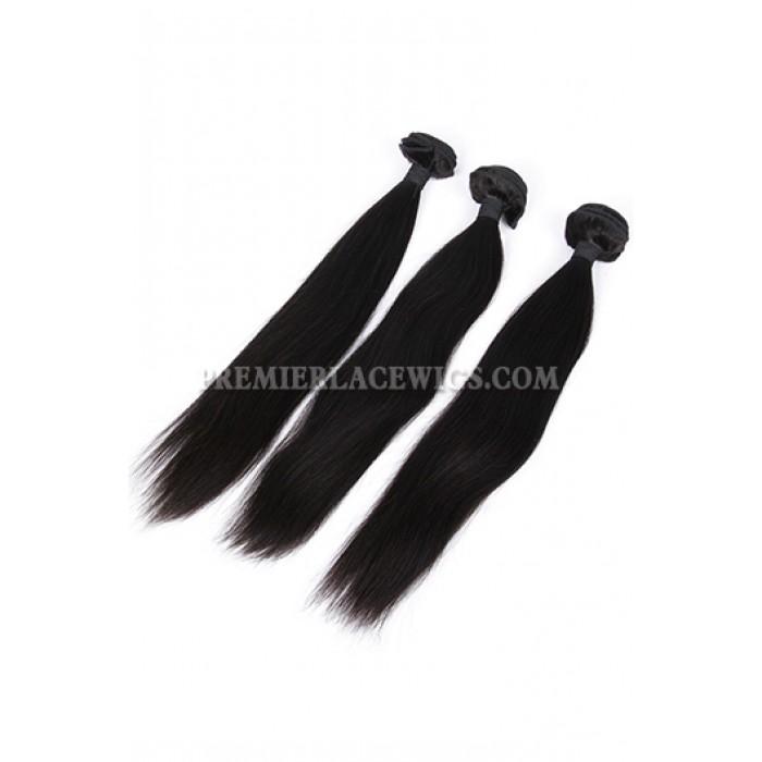 Indian Virgin Hair Weaves Silky Straight
