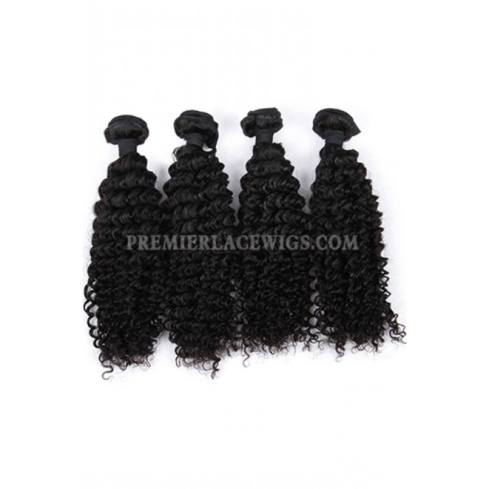 Deep Wavy Indian Virgin Human Hair Extension