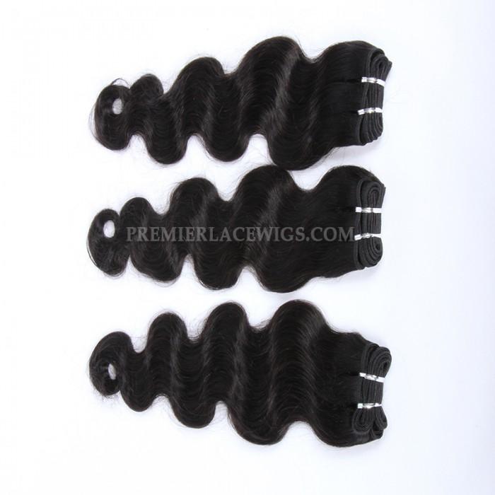 Brazilian Virgin Hair Weave Body Wave 4ozs thick Hair 3 Bundles Deal