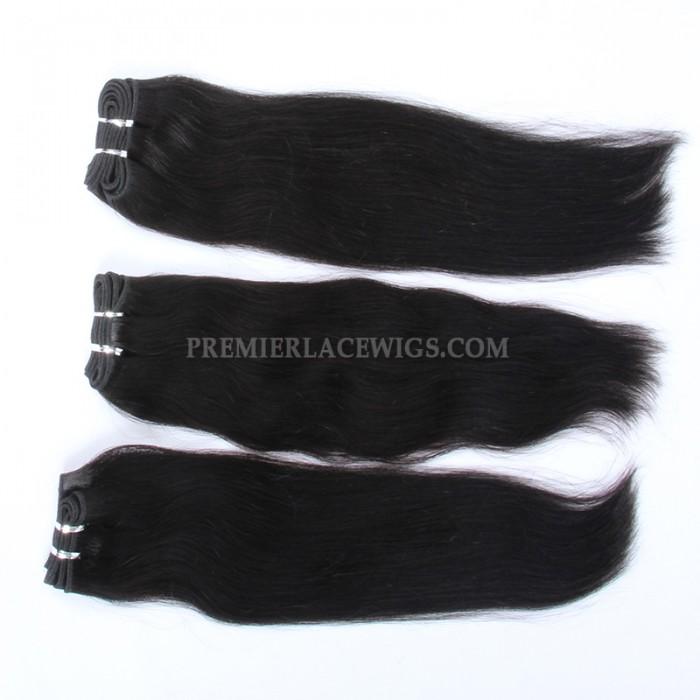 Brazilian Virgin Hair Weave Silky Straight 4ozs thick Hair 3 Bundles Deal