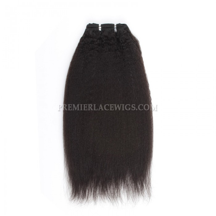 Brazilian Virgin Hair Weave Italian Yaki 4ozs thick Hair