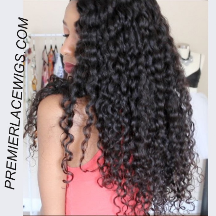 Jayla's Review Brazilian Sexy Big Curls 24inches Natural color Hair, 180% Density, Small Size,