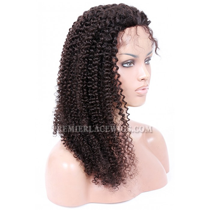 20inches ,natural color ,120% normal density ,kinky curl