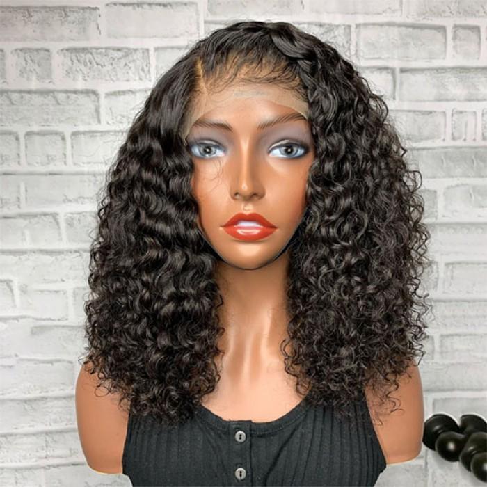 Gorgeous Curly Hair Bob Cut
