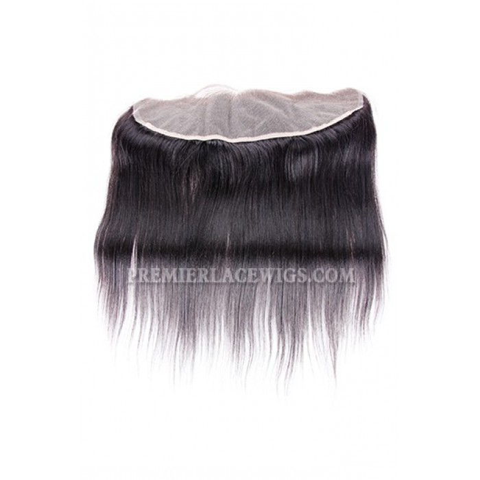 Indian Virgin Hair Silky Straight A Lace Frontal With 3 Bundles Deal