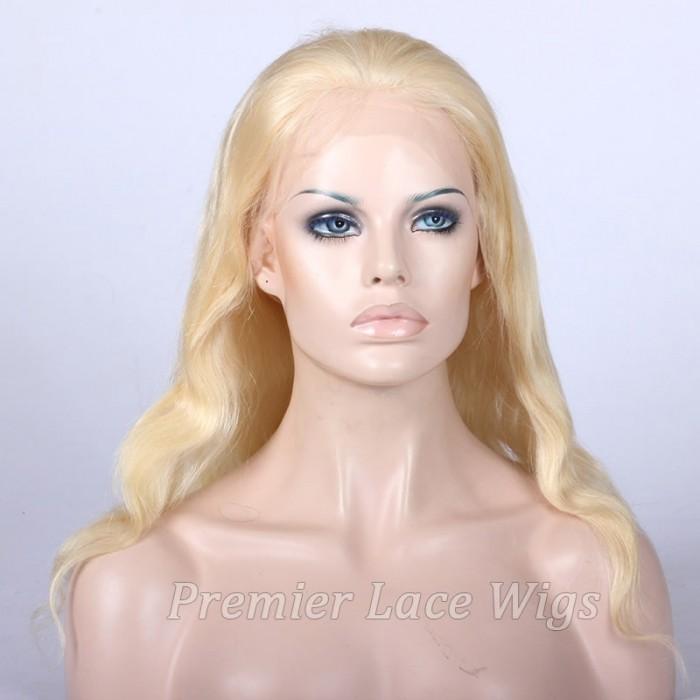 16 inches blonde hair