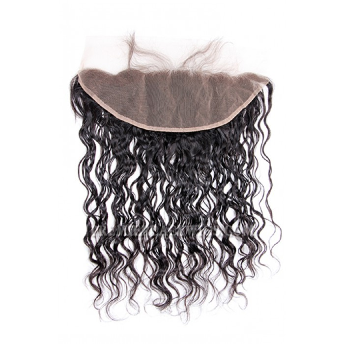 Indian Virgin Hair Lace Frontal Loose Curl ,13x4inches