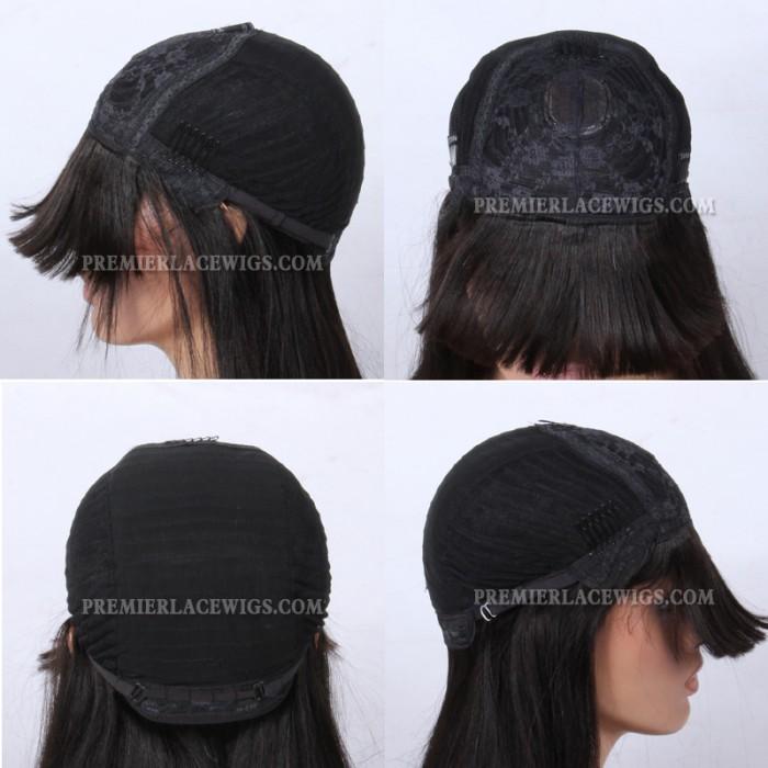 Non-lace wig cap