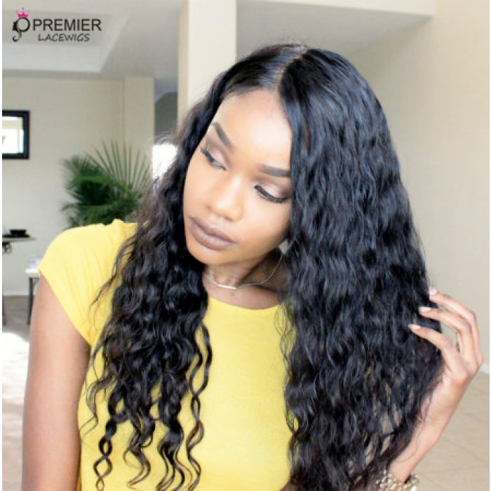 20 inches , natural color ,120% normal density