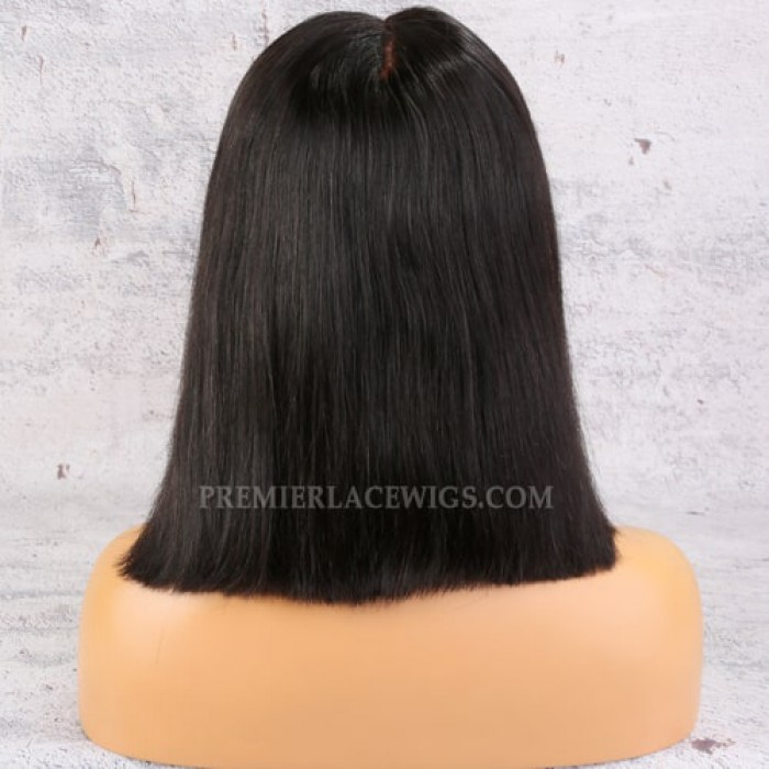 """13""""x6"""" Lace Frontal Wig,Middle Part Bob"""