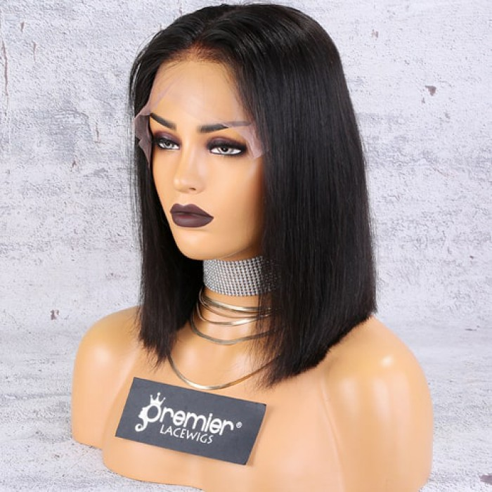 "13""x6"" Lace Frontal Wig,Middle Part Bob"