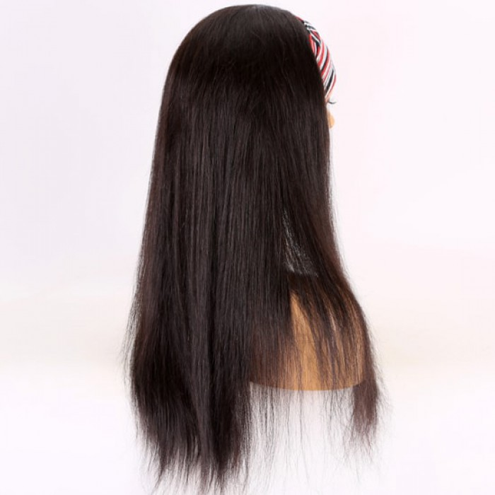 20 inches 130%,natural black