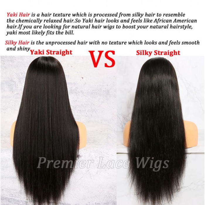 Yaki hair and silky hair