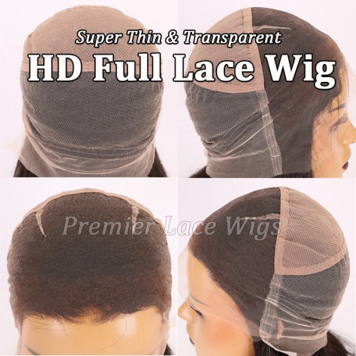 HD lace full lace wig