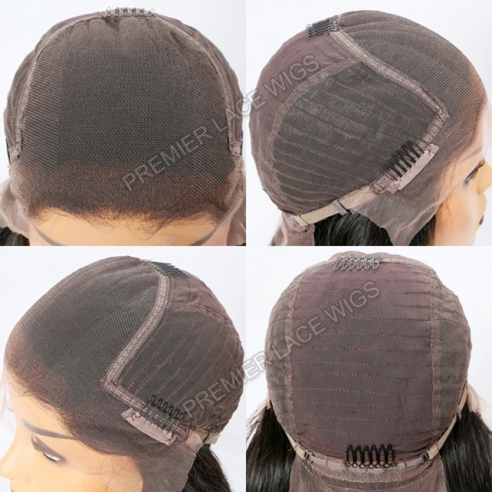 lace front wig 6 inches deep part