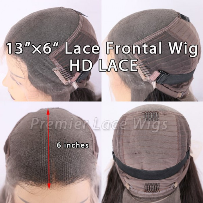 6 inches deep part HD lace frontal