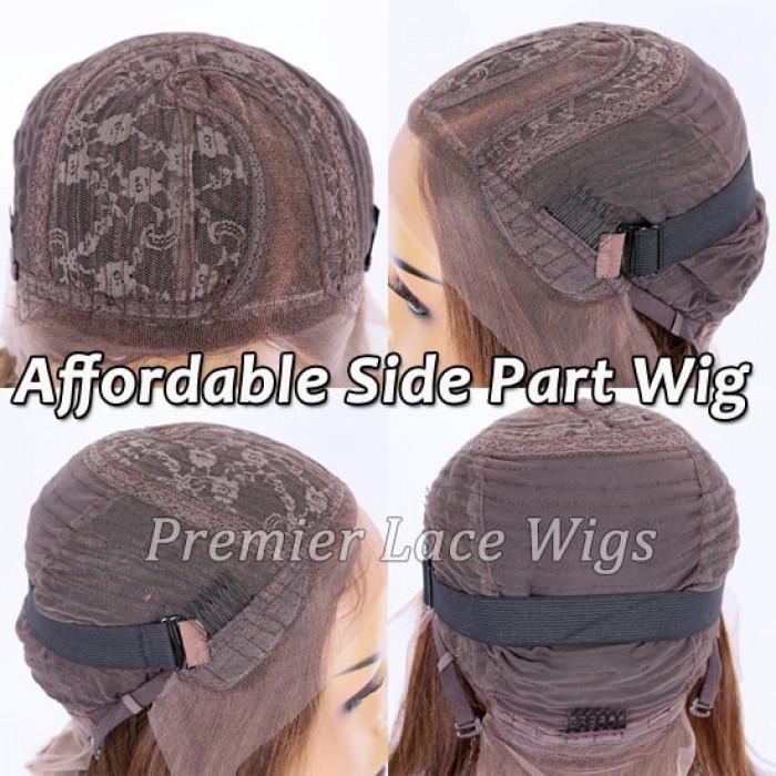 Affordable side part wig