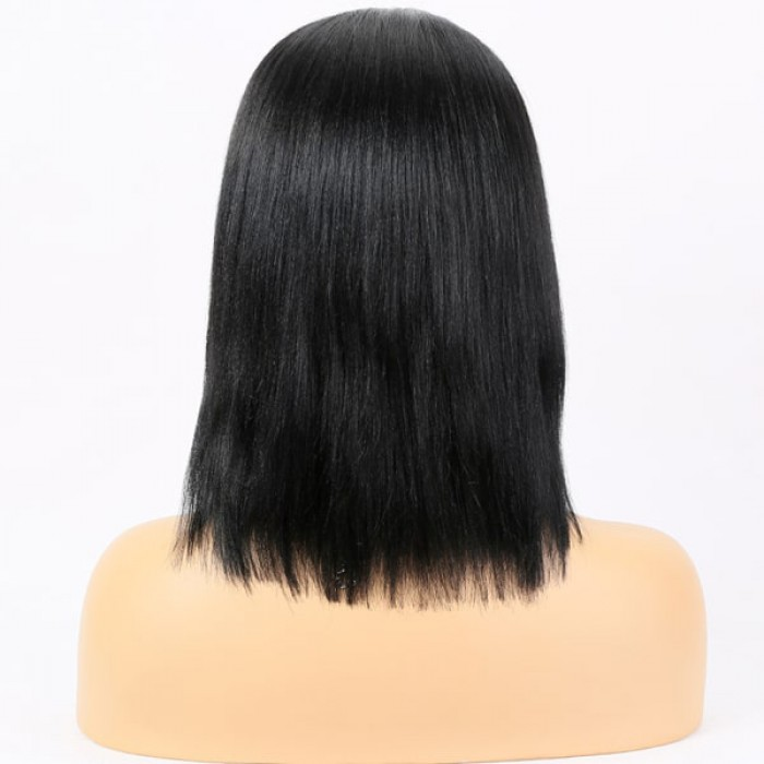 13x3 Lace Frontal Wig Bob Yaki Straight