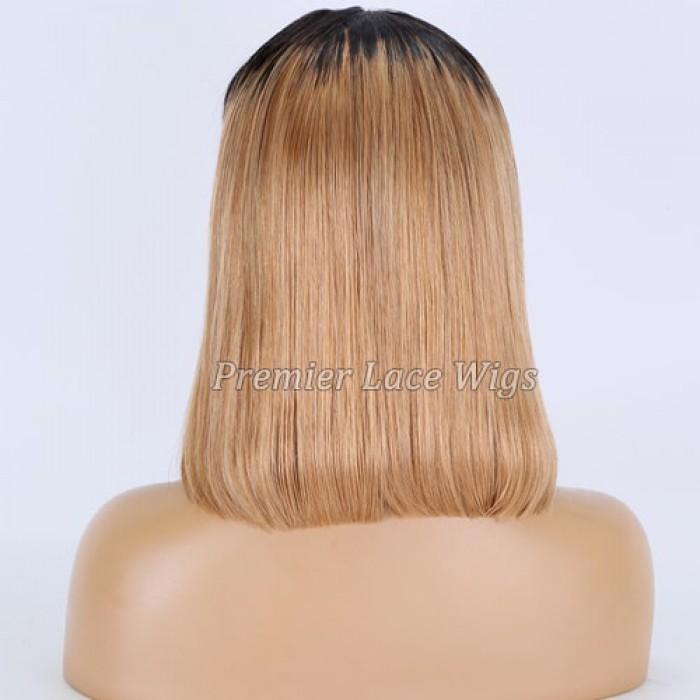 12 inches Dark Roots Blonde Hair